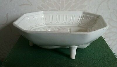 Rare Antique Jelly Mould C1800 Sewell St Anthonys Tyneside Creamware Jello Mold
