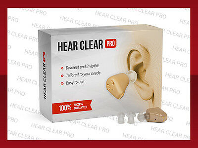 HEAR CLEAR PRO - hearing aid - you can enjoy pure and clear sounds!