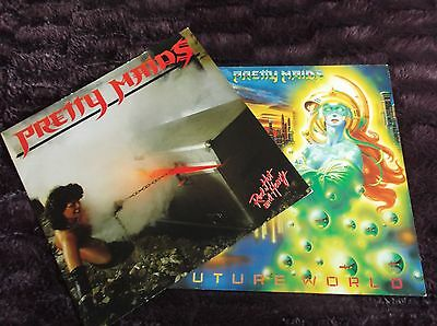 PRETTY MAIDS 2x LPS GREAT DEAL