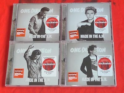 One Direction -Made in the A.M [Target Exclusive] 4CD Set [4 Covers]