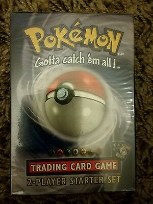 Pokemon Base Set Theme Deck, 2 Player Starter Set, NEW AND SEALED,.