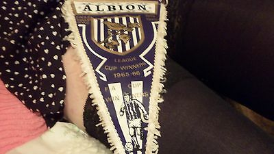 West Bromwich Albion Fc - Football Pennant - Made By Coffer