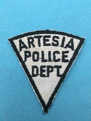 Old Artesia Police Dept, New Mexico shoulder patch