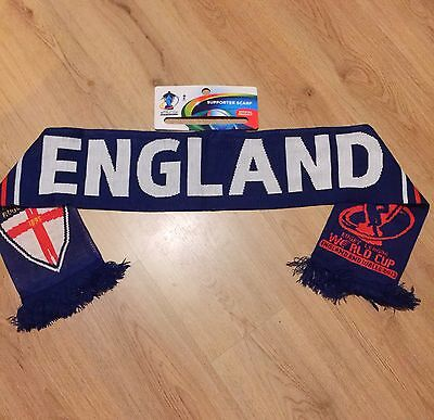 England RUGBY World Cup 2013  England Scarf Brand new