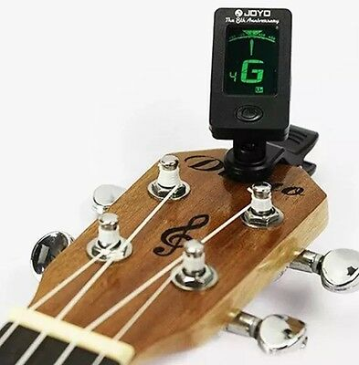 Tuner For Guitar / Bass / Violin / Ukulele. Clip On