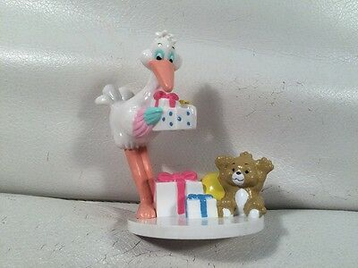 Vintage 80's Applause stork Bundles Figure PVC