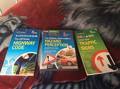 Mixed Bundle Of Car Test Books And Dvd