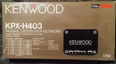 Kenwood KPX-H403 Passive Crossover Network Peak Power 150W &Manuals.(brand New)
