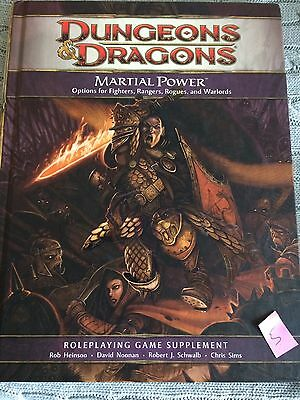 Martial Power, Dungeons & Dragons 4th Edition