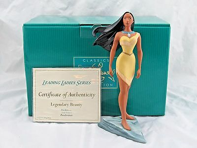 """WDCC """"Legendary Beauty"""" from Disney's Pocahontas in Box with COA"""