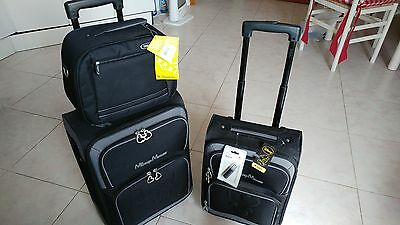 Set Da 3 Trolley Disney Mickey Mouse - Ufficiale Limited Edition Valigie ..segue