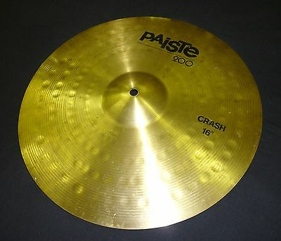 "Paiste 200 Crash Cymbal 16"" (RARE) Made in West Germany"