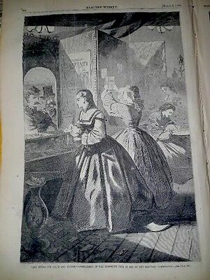 3/5/ 1864 Harper's Weekly Newspaper ~ Great Winslow Homer Print
