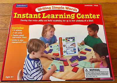 Lakeshore Learning Writing Simple Words Instant Learning center