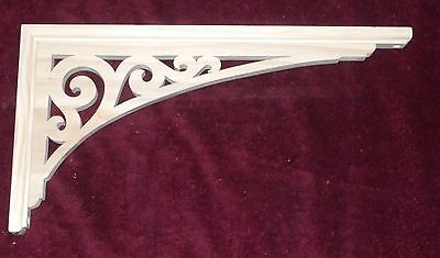 "Victorian Wood Gingerbread {19"" x 10"" } Porch Door Trim Bracket #95 ~ by  PLD"