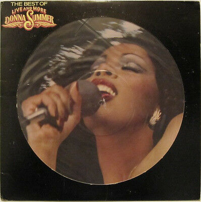 Donna Summer – The Best Of Live And More Vinyl LP Original 1978 - Picture Disc
