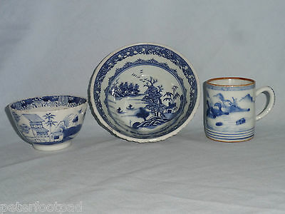 Oriental porcelain : dish, tea bowl and coffee can