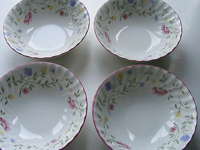 4 x JOHNSON BROS SUMMER CHINTZ CEREAL BOWLS
