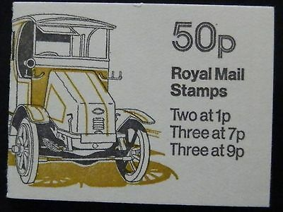 "Gb Fb6A Oct 1978 ""guy Electric Dustcart"" Stamp Booklet"