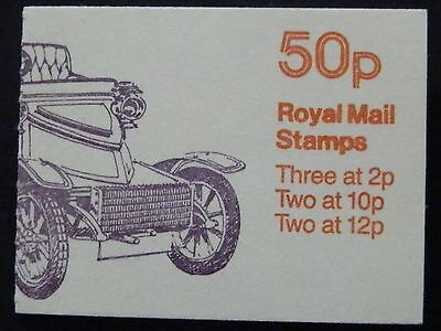 "Gb Fb12B May 1980 ""1903-5 Vauxhall"" Stamp Booklet"