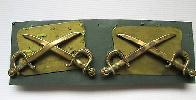 BRITISH army FORCES MILITARY CAVALRY ARM TRADE BADGES