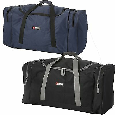 """Mens Large 26"""" Holdall Sports & Gym Duffle Bag Sports Weekend Travel Work"""