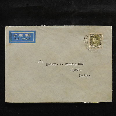 WS-A430 IRAQ - Cover, 30 Fils Baghdad To Lucca Italy
