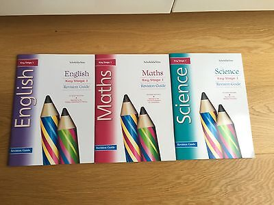 English Math & Science Revision Guides Books  SAT KS1  Schofield&Sims