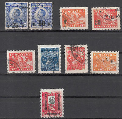 WS-A780 YUGOSLAVIA - Lot, Old Stamps Used