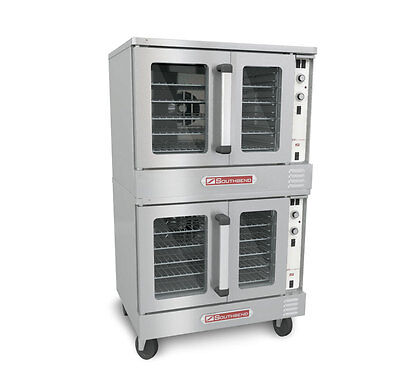 Southbend Electric Double Stack Convection Oven Cook & Hold Std. Depth