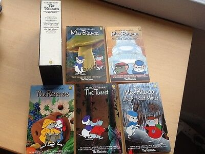 Margery Sharp The Rescuers Box Set 5 paperback books vintage 1979 Miss Bianca