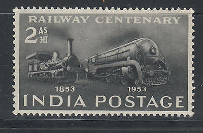 WS-B423 INDIA IND - Trains, Railway Centenary 1953 MH