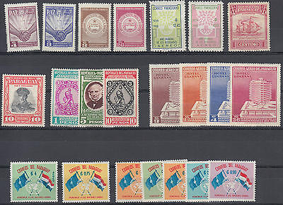 WS-B480 PARAGUAY - Lot, Old Stamps MH