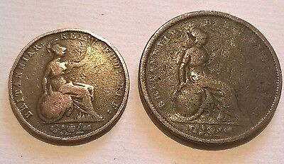 1831 William IV Penny and halfpenny.