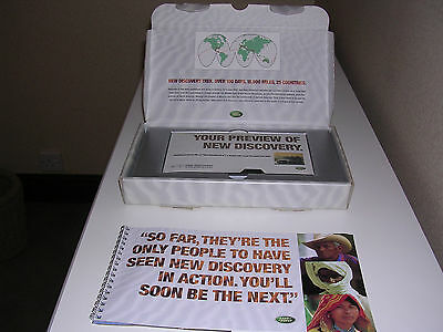Rare Landrover Discovery Literature And Vhs Video 1998 In Presentation Box