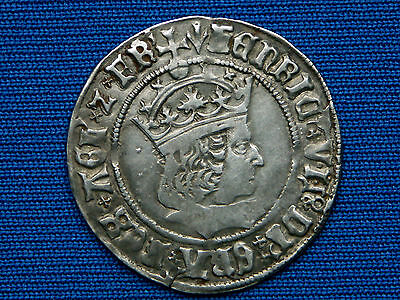 Henry VII Groat - Regular Profile Issue - mm pheon - Superb example