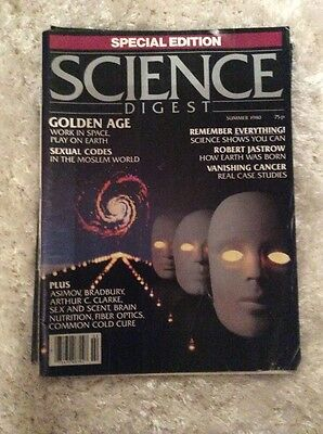 Science Digest Summer 1980 Damaged Special Edition