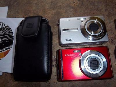 junk drawer cameras telephone & case for parts only