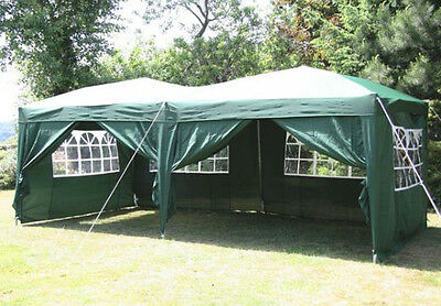 AirWave 6x3mtr Pop Up Gazebo Fully Waterproof with Sides and Bag
