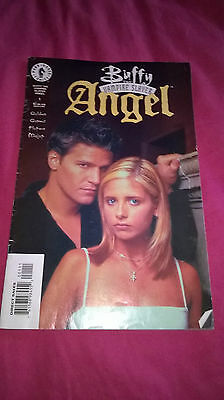 buffy the vampire slayer angel issue 1 comic