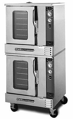 Southbend EH/20SC Electric Half Size Double Stack Convection Oven Std. Depth
