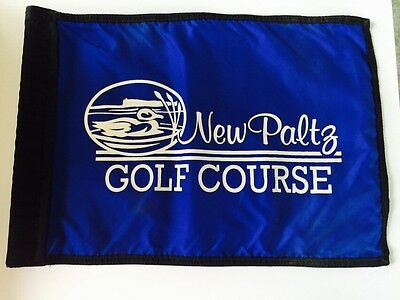 New Paltz Golf Course Pin Flag