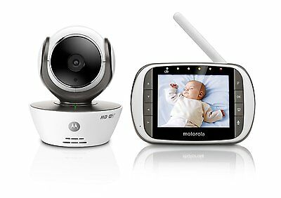 MOTOROLA MBP853 Connect Wireless Baby Monitor Suitable For Indoor Use White