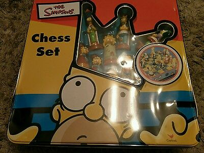 The Simpsons Chess Set Complete