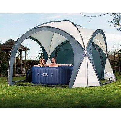 Bestway Lay-Z-Spa Inflatable Hot Tub Garden Outdoor Dome Gazebo Enclosure Cover