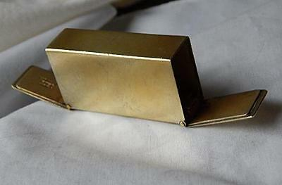 Gilt Sterling Double Pill Box Made for Tiffany & Co