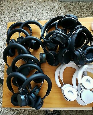 HUGE JOBLOT FAULTY x35 Goji Bluetooth Wireless Headohones Sony