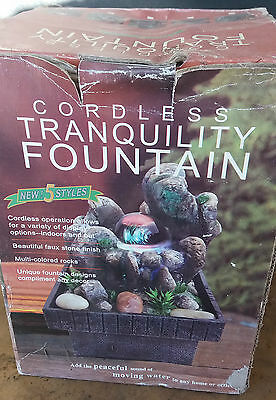 Indoor Cordless Tranquility Fountain