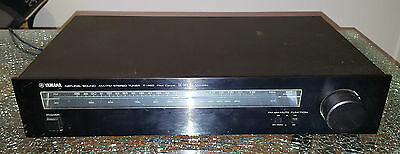 Yamaha T-460 Natural Sound AM/FM Stereo Tuner DC-NFB PLL Multiplex Radio