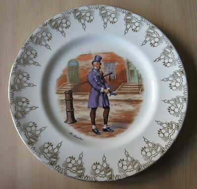 Royal Doulton Mr Micawber Dickens Character Plate  Retro